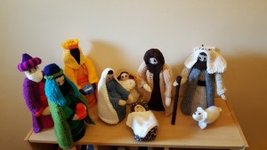 Knitted Nativity